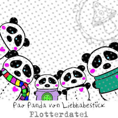 Pao Panda Plotterdatei