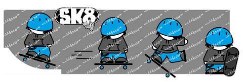 Plotterdatei - SK8 little Skater
