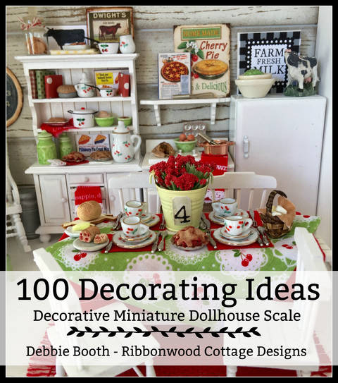 100 Decorating Ideas for Miniature Dollhouses Budget Friendly at Makerist