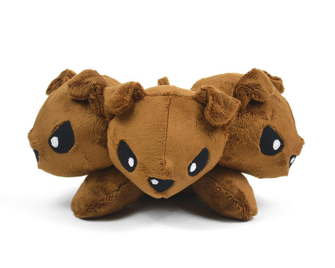 Cerberus Fluffy Monster Dog Plush Sewing Pattern at Makerist - Image 1