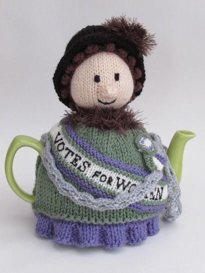 Suffragette Tea Cosy  at Makerist - Image 1