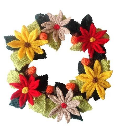 A Merry Christmas Wreath at Makerist