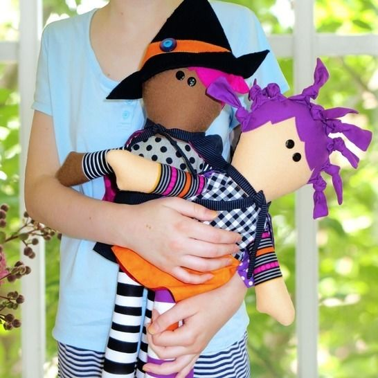 Little Witches - Doll Pattern at Makerist - Image 1