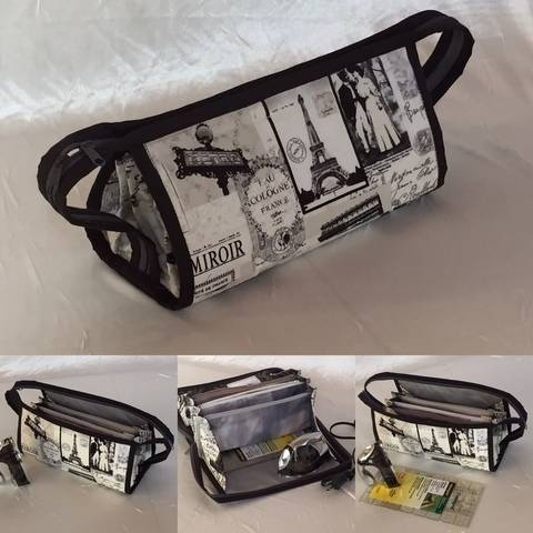 Small sewing organizer bag