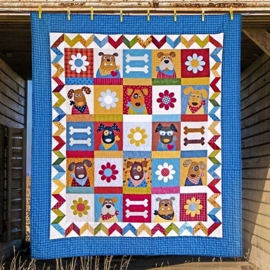 The Kennel Club - Quilt Pattern at Makerist - Image 1