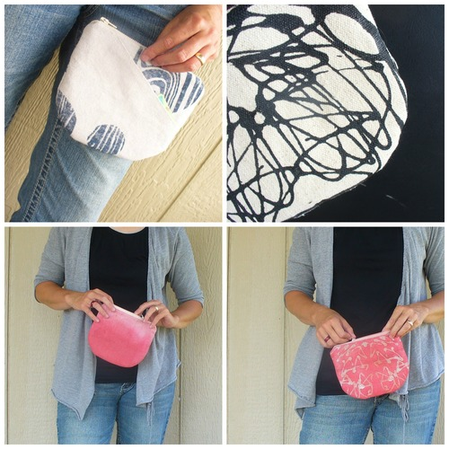Tessa Pouch sewing pattern