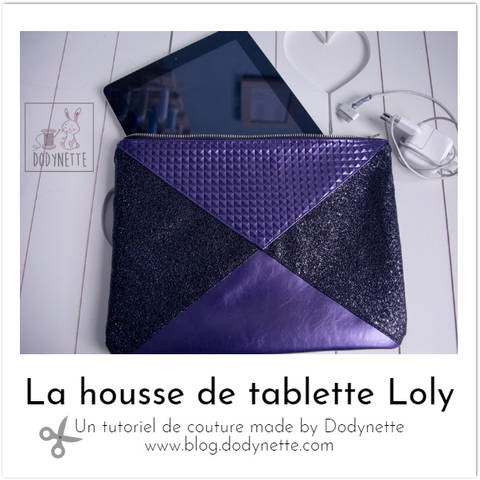 La housse de tablette LOLY chez Makerist
