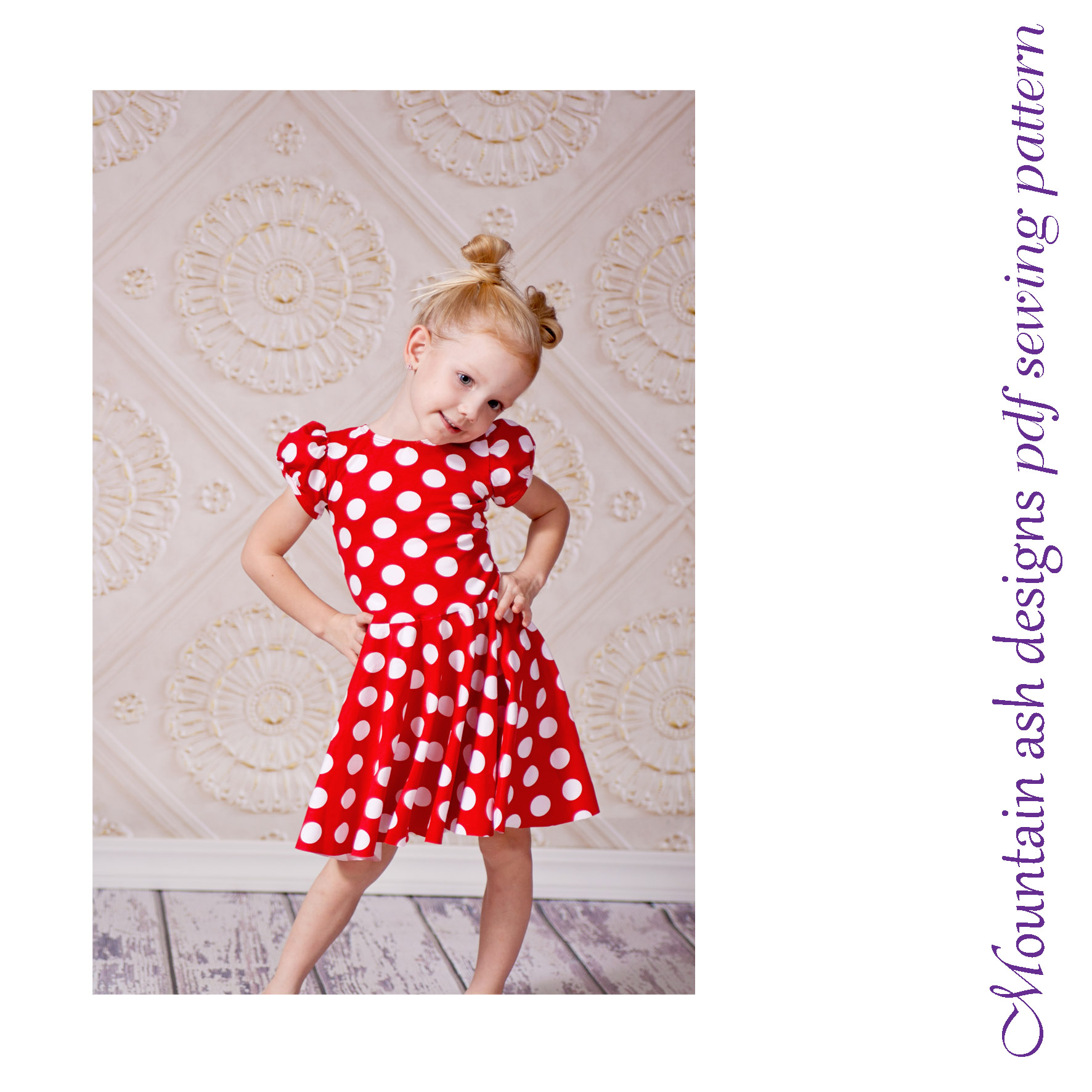 Storybook Dress Dance Costume Sewing Pattern in Girls Sizes 1-14