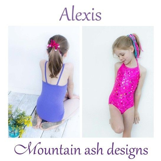 Alexis Swimsuit and Leotard Sewing Pattern in Girls Sizes 1-14 at Makerist - Image 1