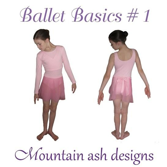 Ballet Basics 1 Wrap Top, Leotard & Skirt in Girls Sizes 1-14 at Makerist - Image 1