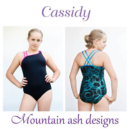 Cassidy Swimsuit and Leotard in Girls Sizes 2-14 at Makerist - Image 1