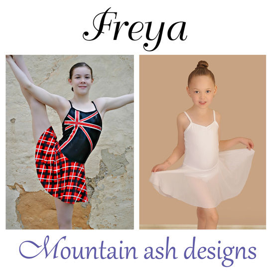 Freya Dance Costume and Leotard in Girls Sizes 2-14 at Makerist - Image 1