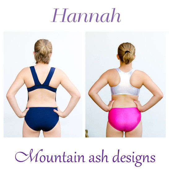 Hannah Racer Back Swimsuit and Leotard Sewing Pattern in Girls Sizes 2-14 at Makerist - Image 1