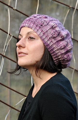 Limpetiole beret - knitting pattern