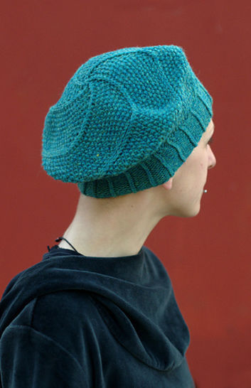 Limerick beret - knitting pattern at Makerist - Image 1