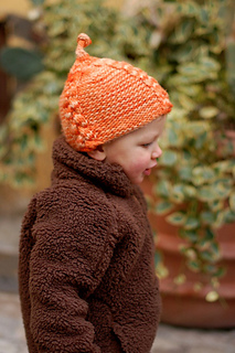 Lollie pixie hat - knitting pattern