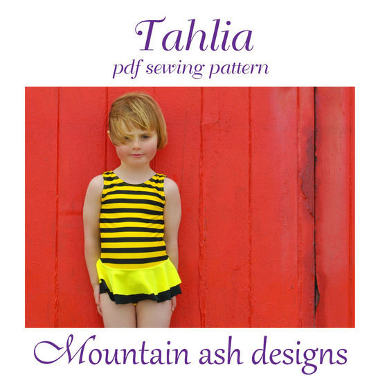 Tahlia Swimsuit and Dance Costume in Girls Sizes 2-14 at Makerist - Image 1