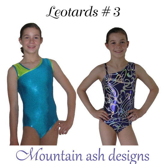 Leotards #3 Sewing Pattern in Girls Sizes 2-14 at Makerist - Image 1