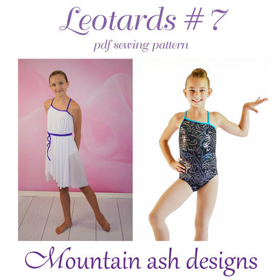 Leotards #7 Leotard and Dance Costume Sewing Pattern in Girls Sizes 2-14 at Makerist - Image 1