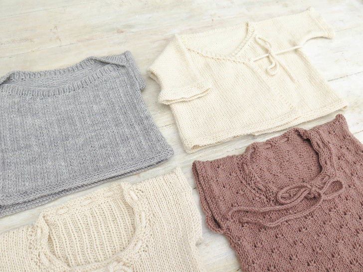 Treasure Vests - Baby Top Knitting Pattern at Makerist - Image 1
