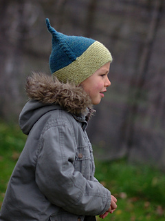 Kabouter pixie hat - knitting pattern