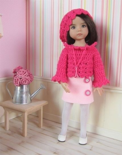 Paris : crochet outfit for Little Darling Effner Doll at Makerist - Image 1