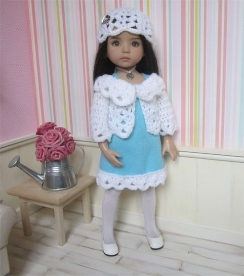 Frost : crochet outfit for Little Darling Effner Doll at Makerist - Image 1