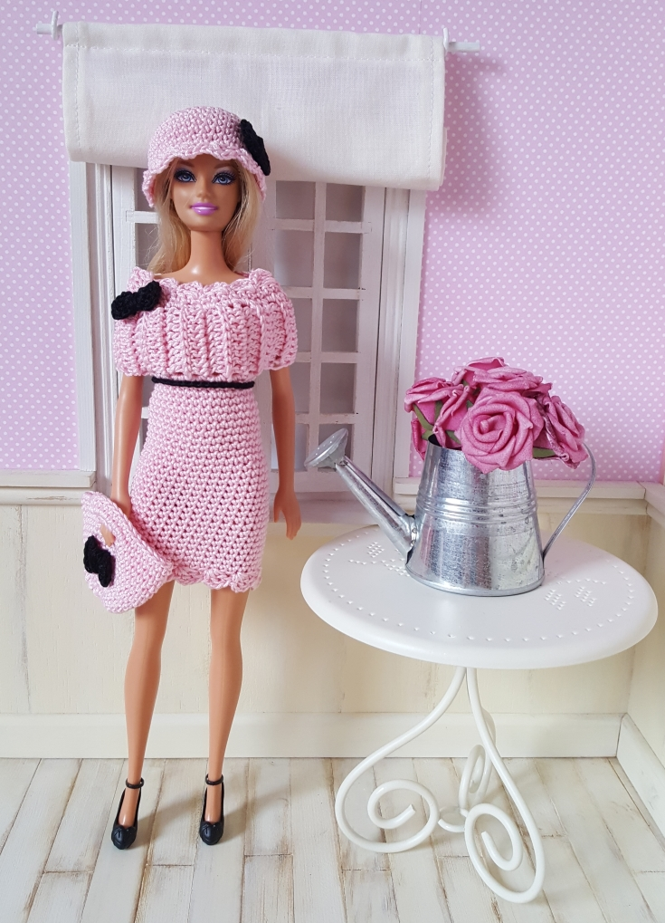 Maddy : crochet outfit for Barbie Doll