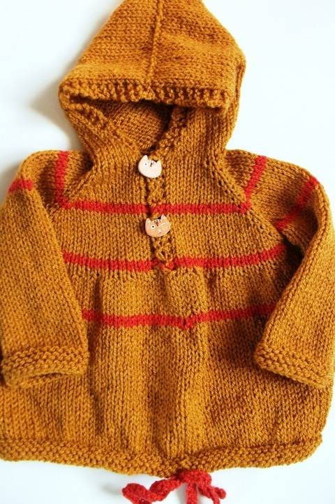 Hamish Hoodie Sweater at Makerist