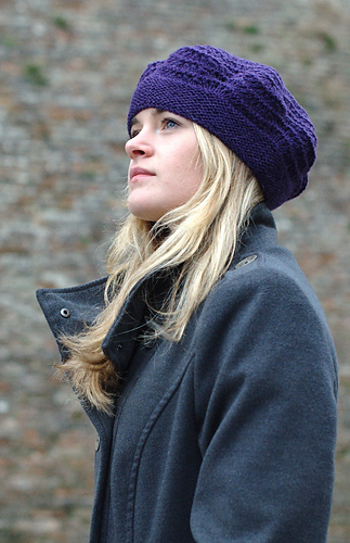 Mayrose beret - knitting pattern