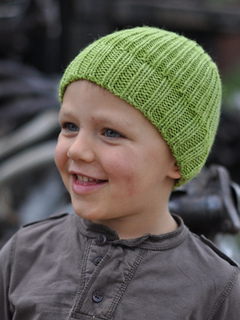 Ledger beanie - knitting pattern