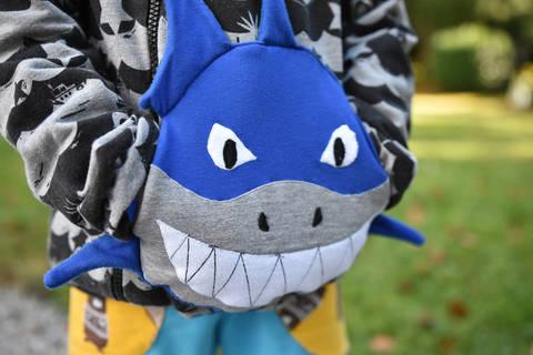 Kuschelfreunde Muffs • 3er-Set • Hai Kroko Dino bei Makerist