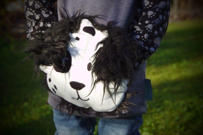 Kuschelfreunde Muffs • 3er-Set • Hippo Löwe Hund bei Makerist - Bild 1