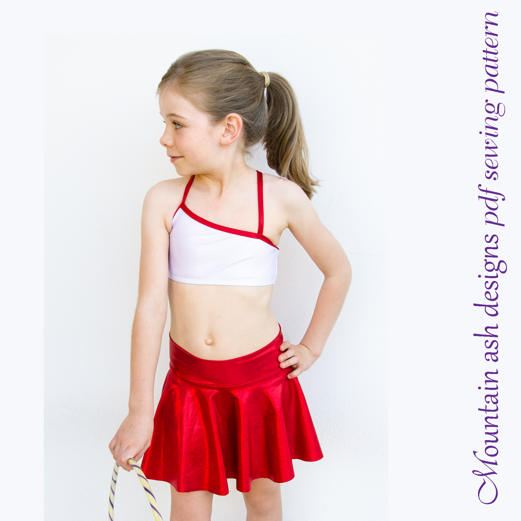 Gymnastics and Dance Tops 1 in Girls Sizes 2-14