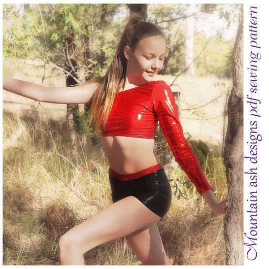 Keira Cheerleading and Dance Tops in Girls Sizes 2-14 at Makerist - Image 1