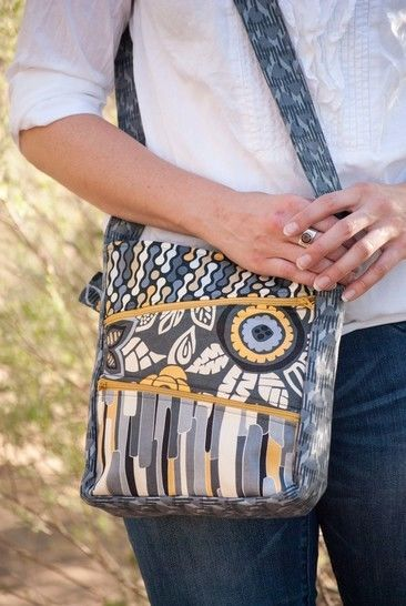 Zippy Bag Sewing Pattern - Jen Fox Studios at Makerist - Image 1