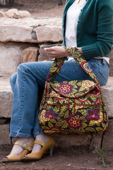 Pocket Tote Sewing Pattern - Jen Fox Studios at Makerist - Image 1