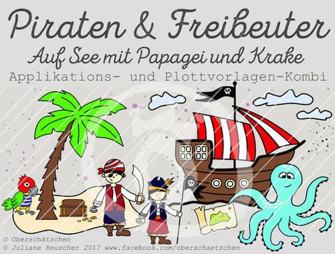 Appli- und Plott-Kombi Piraten & Freibeuter