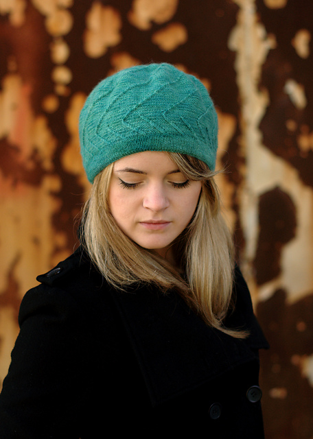 Out of the Darkness beanie hat - knitting pattern
