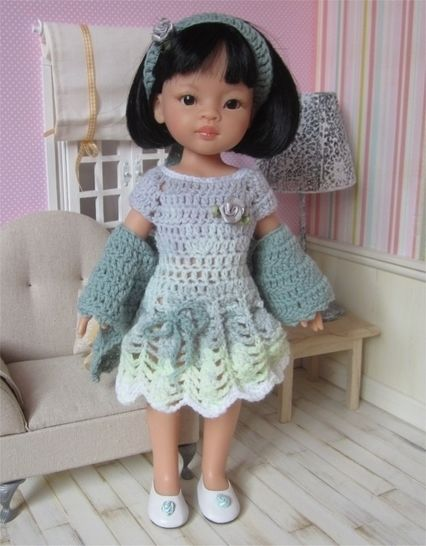 Perrine : crochet outfit for Paola Reina or Cherie Doll at Makerist - Image 1