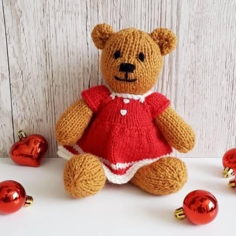 Christmas Bitsy Teddy