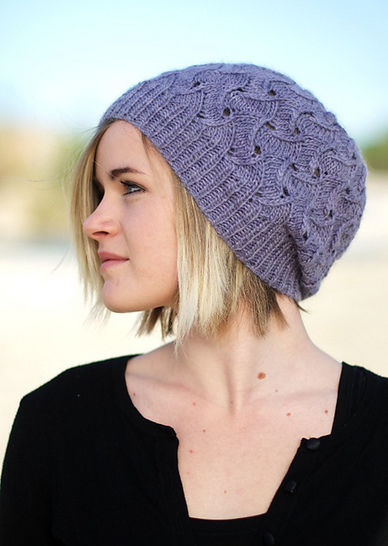 QL Slouch Hat - knitting pattern at Makerist - Image 1