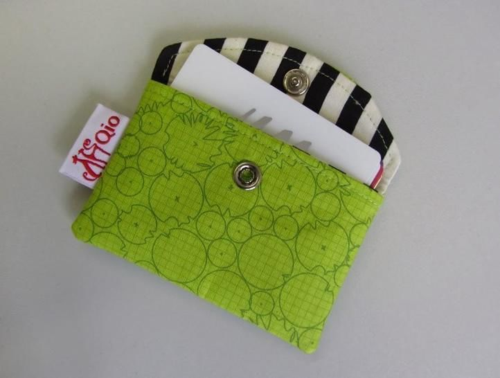 Snappy Business Card Pouch - Card Holder sewing bag credit cards at Makerist - Image 1