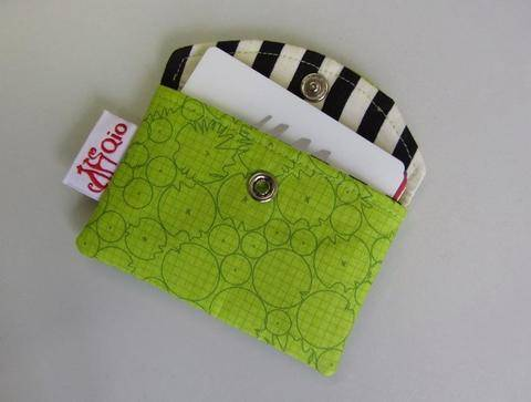 Snappy Business Card Pouch - Card Holder sewing bag credit cards at Makerist