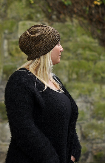 Woodland Slouch - knitting pattern at Makerist - Image 1