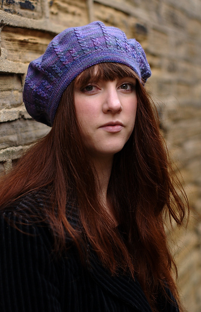 Sophora cabled hat - knitting pattern