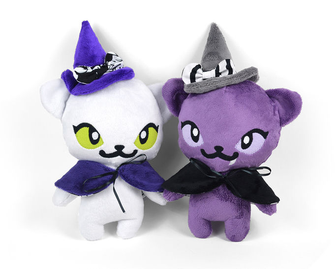 Witch Kitty Cat Stuffed Animal Toy Sewing Pattern at Makerist - Image 1