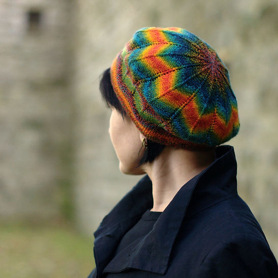 Symetrie beret - knitting pattern at Makerist - Image 1