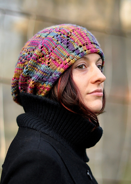 Ziggy hat - knitting pattern