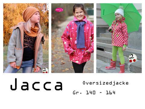 Oversizedjacke Jacca, Gr. 140 - 164